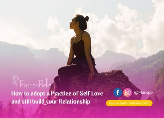 Adopt a Practice of Self Love - young woman sitting on a rock amongst mountains