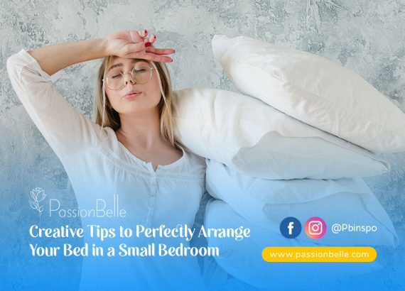 Girl wondering how to Arrange Your Bed In A Small Bedroom.