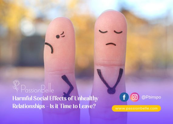 Social effects of unhealthy relationships - two fingers with drawn on sad faces.