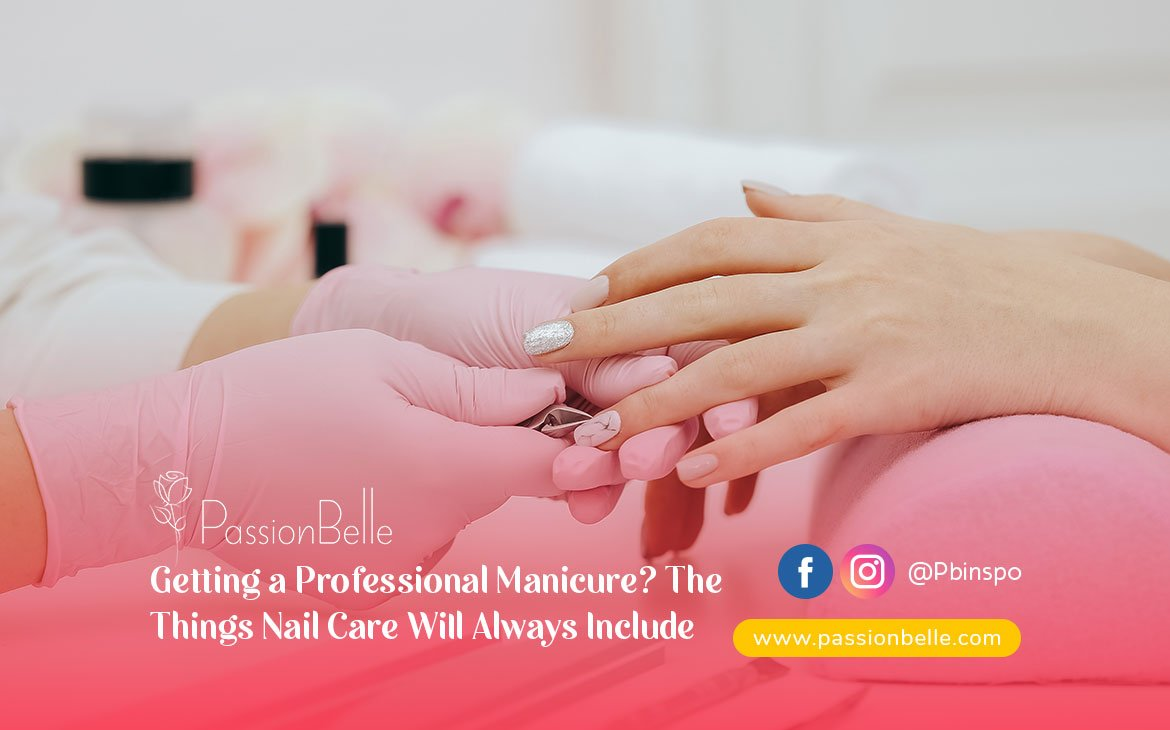 Photo showing some of the things nail care will always include.